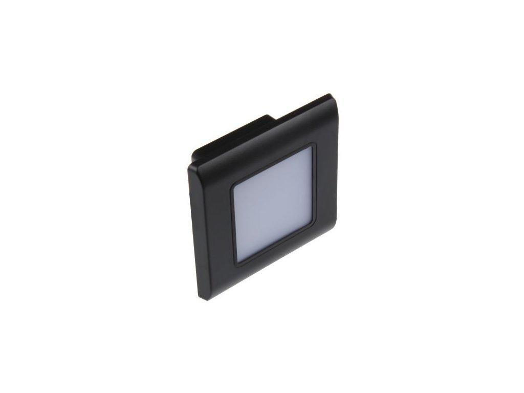 LED vestavné svítidlo RAN-B černé TEPLÁ BÍLÁ