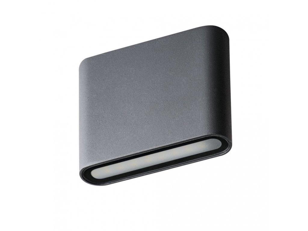 Přisazené LED svítidlo GARTO 8W-GR černé