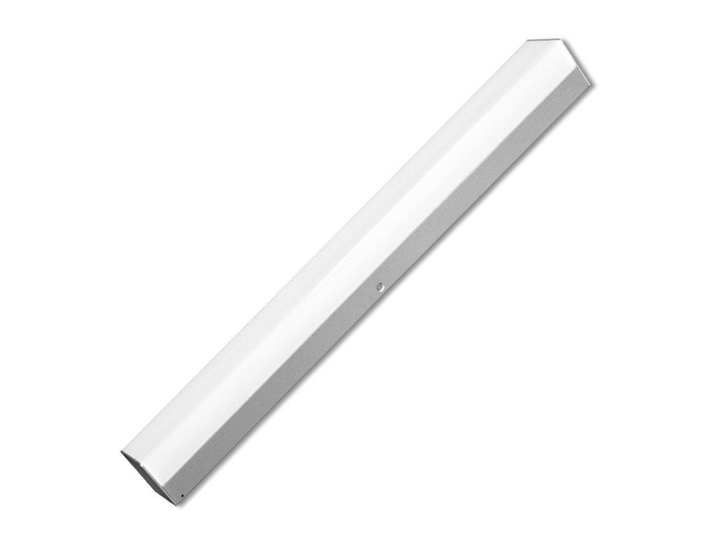 LED sv. 30W,2400lm,120cm,IP44,4000K,stříbrná