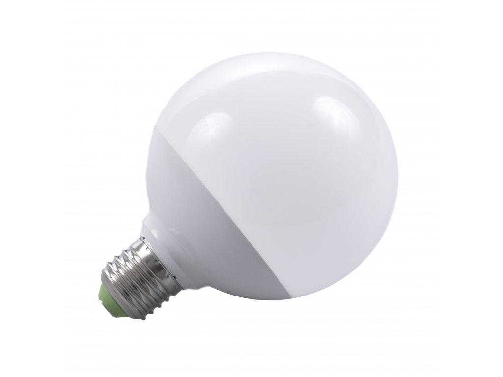 LED žárovka E27 LU12W 260° TEPLÁ BÍLÁ