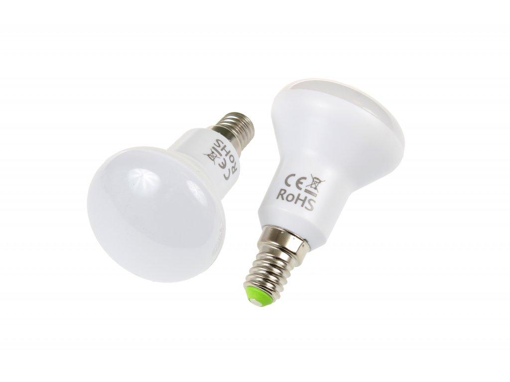 LED žárovka E14 S5W-180 TEPLÁ BÍLÁ