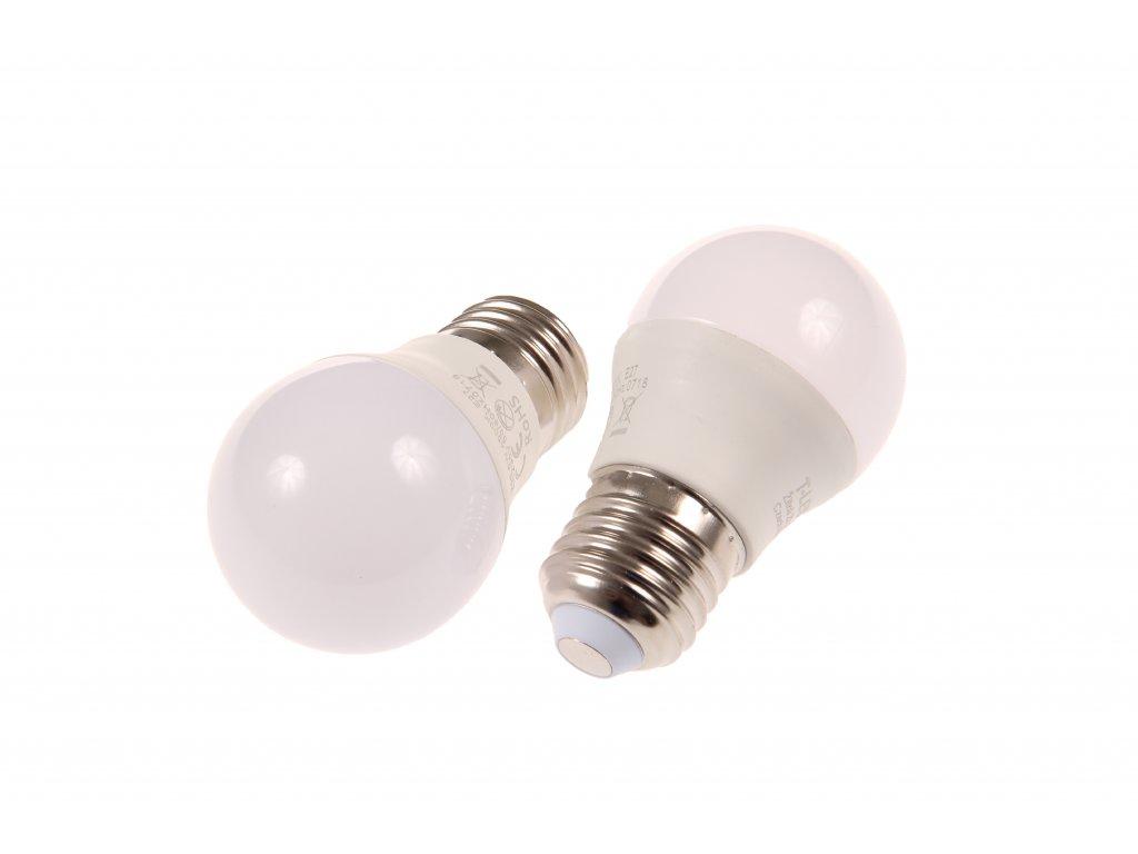 LED žárovka E27 MKG45 6W STUDENÁ BÍLÁ