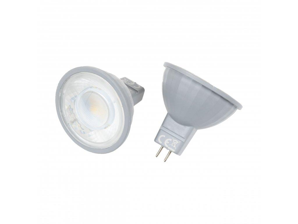 LED žárovka MR16 EV7W TEPLÁ BÍLÁ