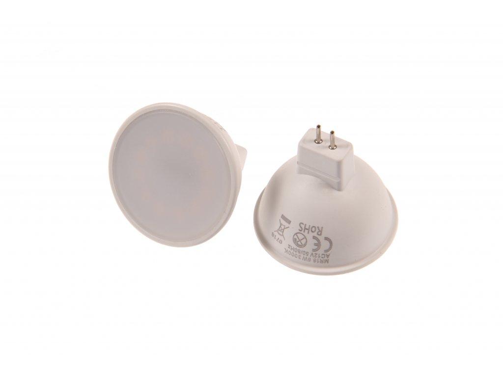 LED žárovka MR16 6W EP50 DENNÍ BÍLÁ