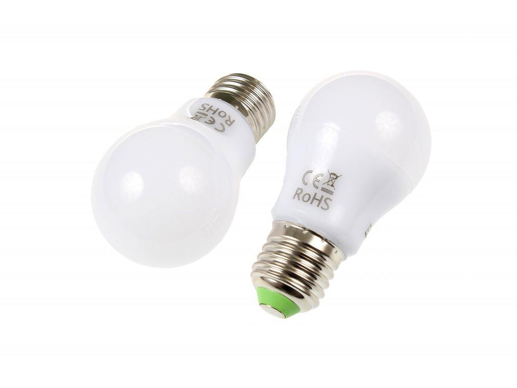 LED žárovka E27 SA6W 360° STUDENÁ BÍLÁ