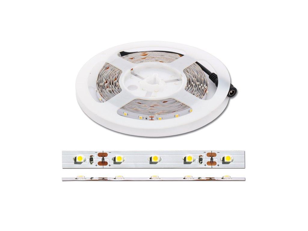 set LED pásku DENNÍ BÍLÁ 4,8W/m 5m vč. dálkového ovládání DX-SMD3528-BI/5M