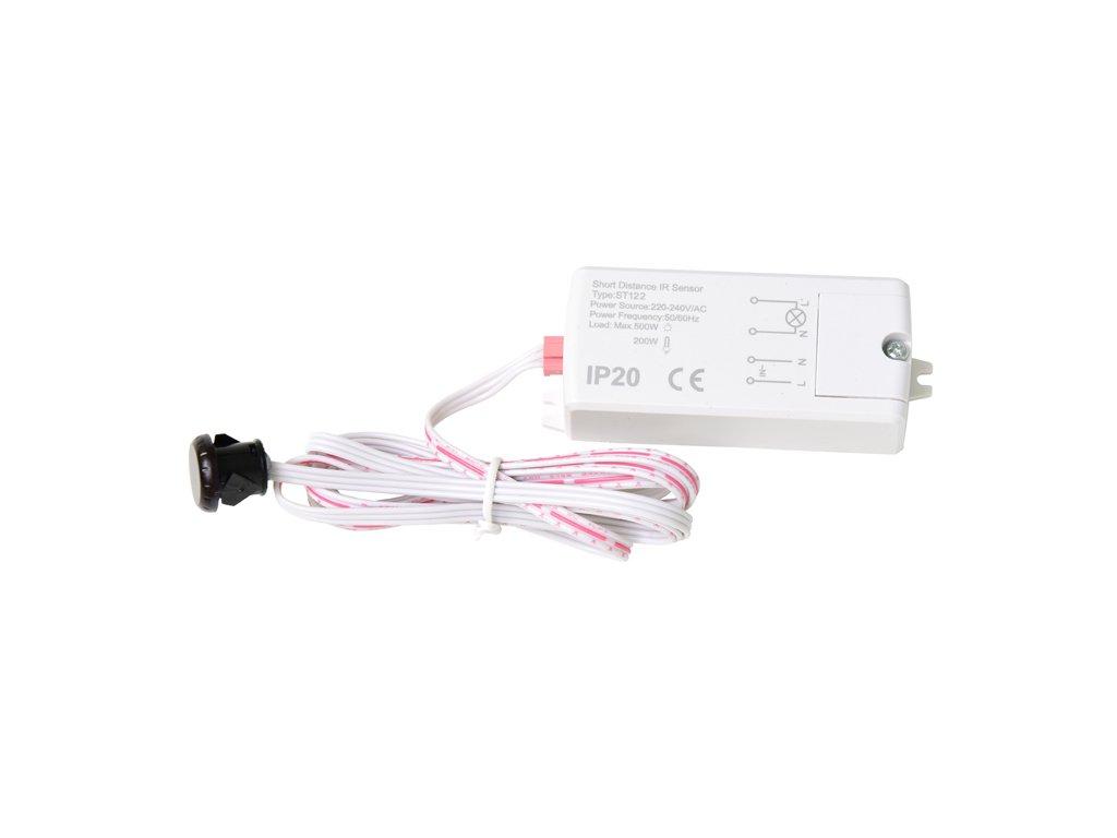 Senzor mávnutí ruky nábytkový s IR senzorem pro 230V max 500W pro LED zařízení