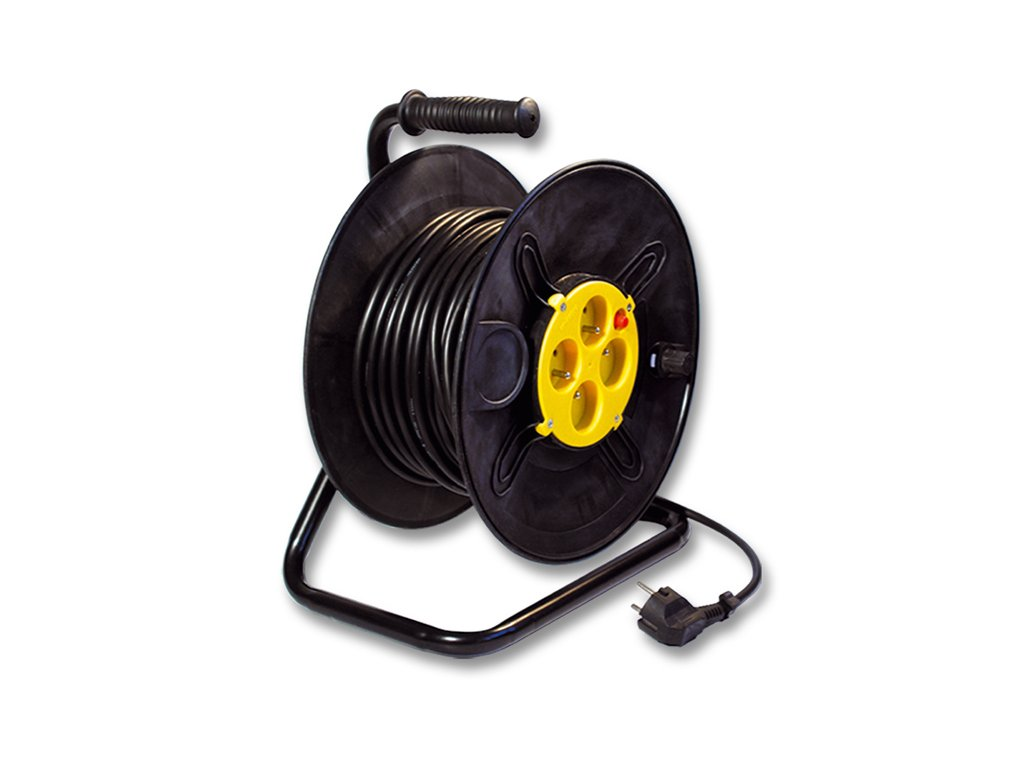Prodlužovací kabel na bubnu 25m, 3x1,5mm2 FBUBEN-25