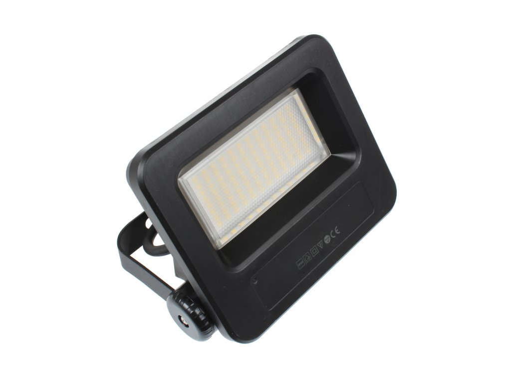 LED reflektor FB30W černý 30W STUDENÁ BÍLÁ 103706