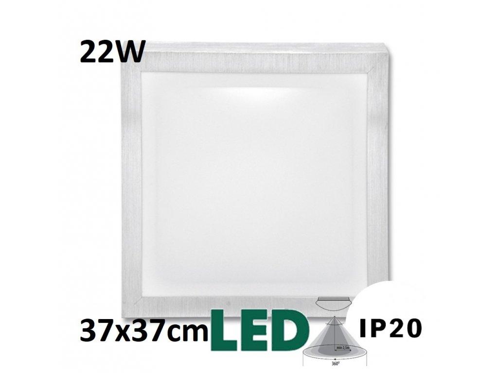 BELA WD002 22W led HF stropní a nástěnné LED svítidlo s čidlem pohybu Praha