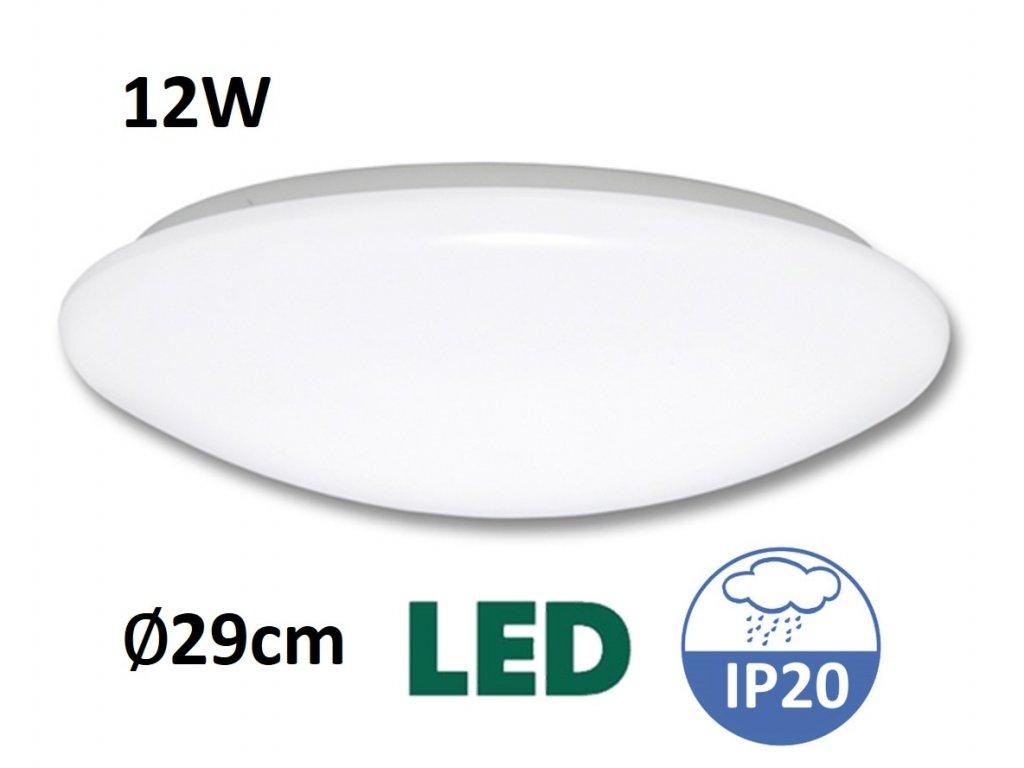 LED stropní svítidlo ANETA WS005 12W LED MaxLumen.cz