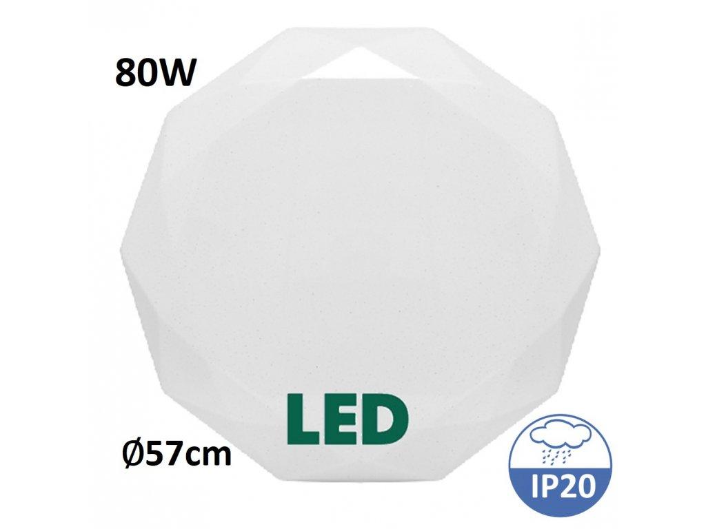 stropní světlo regulace svetla Ecolite diamant wzsd 80W maxlumen.cz