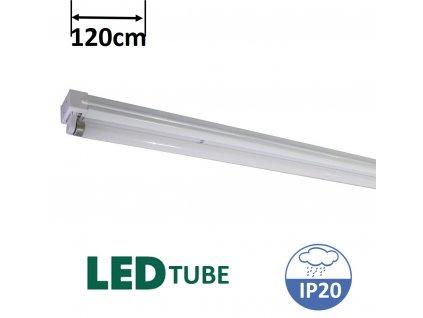 greenlux UGO LED T8 120 zářivkové svítidlo pro led trubici 120cm