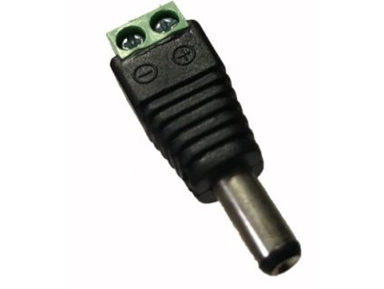 DC konektor samec se svorkovnici sroubovaci