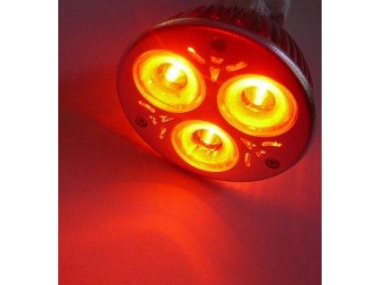 Barevná LED žárovka E27
