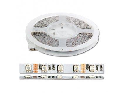 set RGB pásku 14,4W/m 5m vč. dálkového ovládání DX-SMD5050-RGB/5M