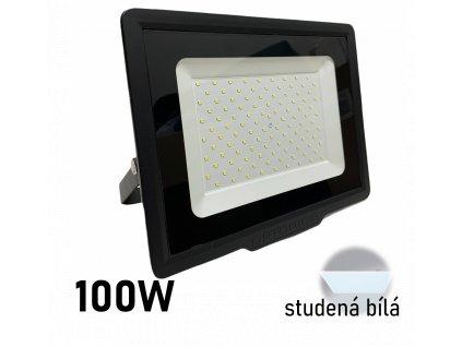 led reflektor 100W černy