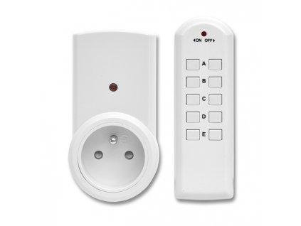3 zásuvky na dálkové ovládání max.1150W EZ-7901