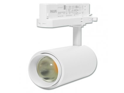 LED lištový reflektor 30w 3F 15°- 60° 4100K BÍLÝ