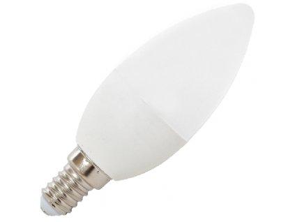 LED žárovka E14 Svíčka 7W