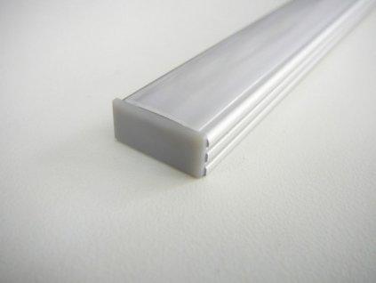 Koncovka LED profilu N2 plná maxlumen.cz