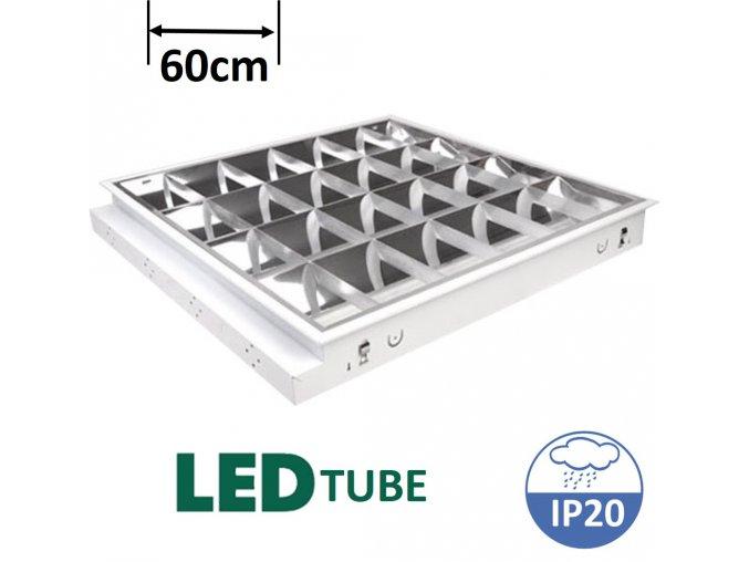 greenlux TAU LED 4xT8 60cm vestavné svitidlo pro 4 LED trubice maxlumen.cz