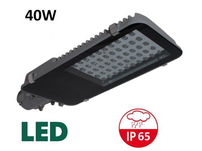 LED VO veřejné osvětlení 40W maxlumen.cz