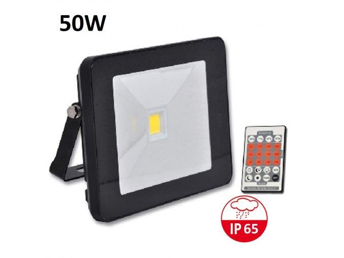 LED reflektor s pohybovym cidlem RLHJ50W CRHF 4100 maxlumen.cz