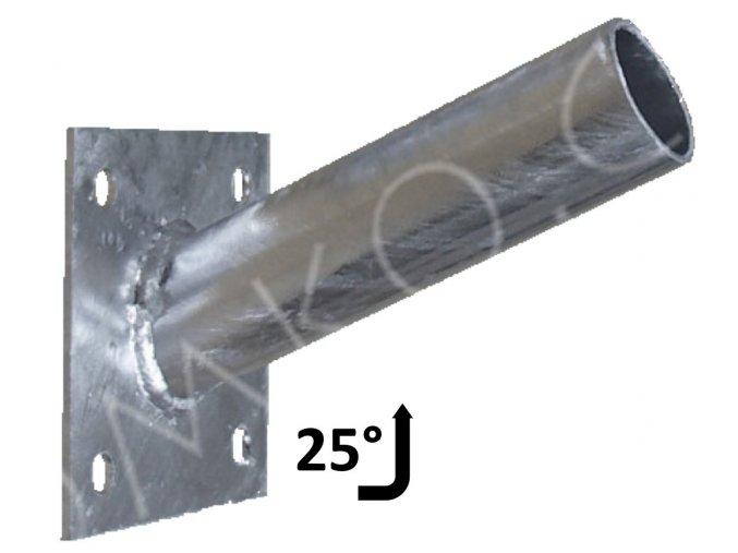 vyloznik na zed 38mm 25 stupnů
