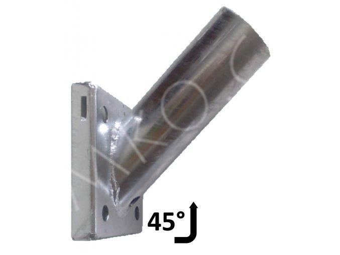 vyloznik na zed 60mm 45 stupnů verejne osvetleni