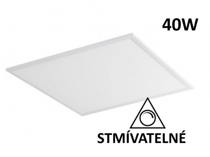 stmivatelny led panel 60x60cm 40w maxlumen