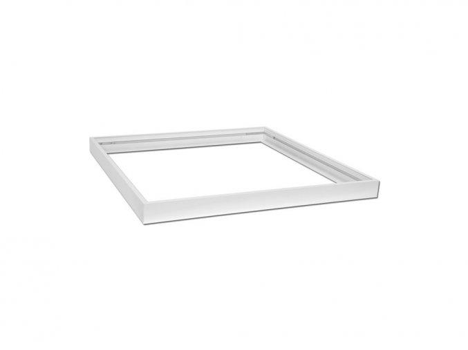 bily hlinikovy ram pro led panel 60x60