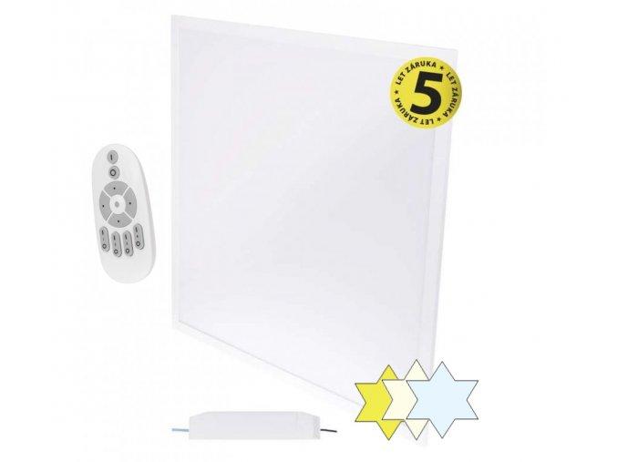 stmivatelny led panel emos cct 60x60 zr1410 vestavny do podhledu se zmenou barvy svetla