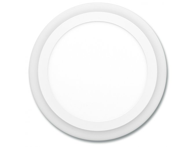 Dvojbarev. SMD kruh 24,5cm,18W+6W,4000K+2700K
