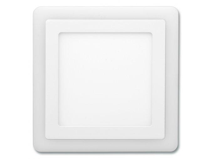 Dvojbarev. SMD 24,5x24,5cm,18W+6W,4000K+2700K