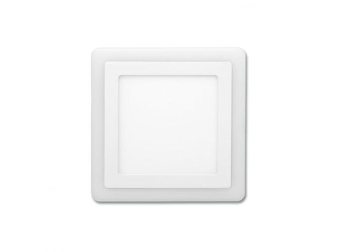 Dvojbarev. SMD 14,5x14,5cm,6W+3W,4000K+2700K