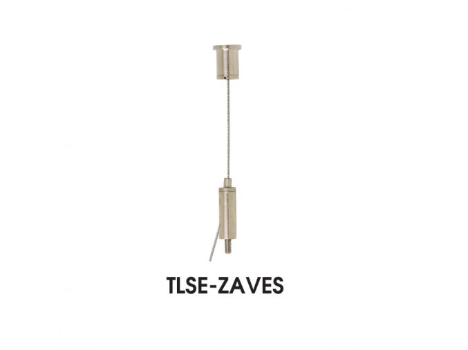 Závěs ke svítidlu TLSE, 2m, set 2ks