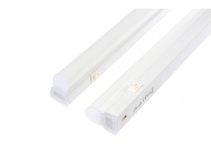 LED svítidlo T5-L60 60cm 8W STUDENÁ BÍLÁ