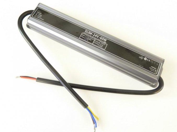 LED trafo 24v 60W pro led pasky 24V