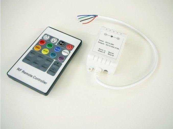 LED ovladač RGB RF4 20B maxlumen.cz