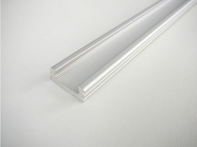 LED profil N2 nástěný hliníkový maxlumen.cz
