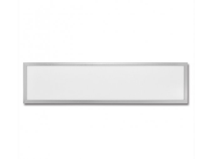 LED panel Zeus 120x30 45W  stříbrný, denní bílá
