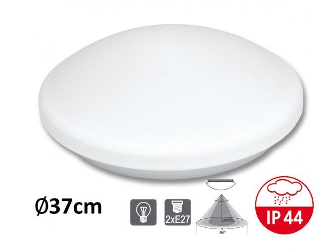 zarovkove E27 dvě zarovky stropni nastenne svitidlo victor BI HF senzor maxLumen.cz