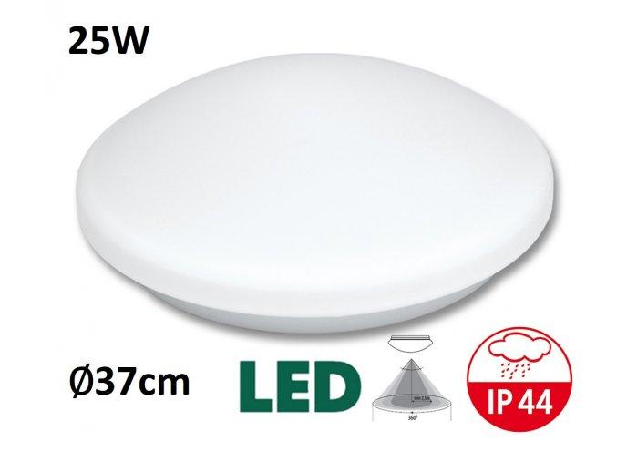 LED stropni nastenne svitidlo victor LED 25W pohybove cidlo HF teplá denní bílá maxLumen.cz