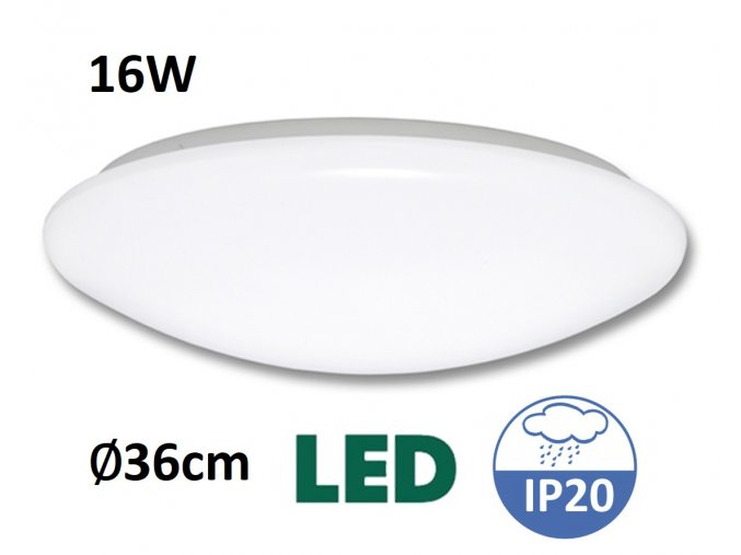 LED stropní svítidlo ANETA WS005 16W LED MaxLumen.cz