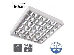 greenlux ORI EVG 4x18W zářivkové svítidlo přisazené