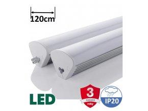 Immax LED svítidlo Linear Triangle 120cm 40W PB hliníkové led svítidlo
