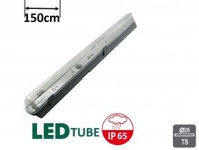 Greenlux DUST LED PS 1xT8 150cm jednostraně napájené MaxLumen.cz