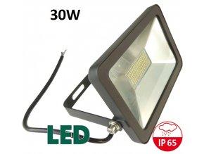 LED reflektor černý PROFI- RB-30W