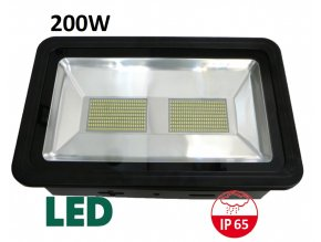 LED reflektor profi 200W SMD ICD maxlumen.cz černý